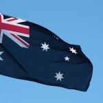 Australian flag Southern Cross 150