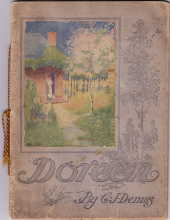 C. J. Dennis, Doreen, 1917, front cover 450h