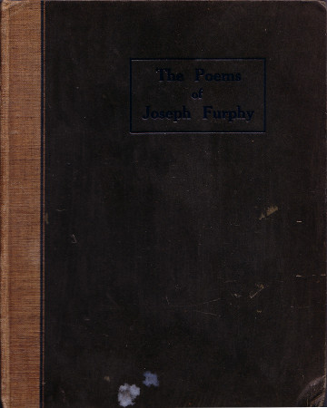 The Poems of Joseph Furphy, front cover 450h