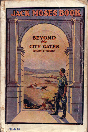 Beyond the City Gates, by Jack Moses, front cover, 450h