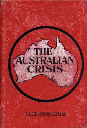 Front cover of the George Robertson edition (April 1909)