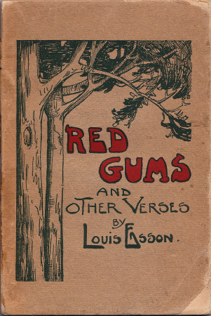 Red Gums, by Louis Esson, front cover 450h