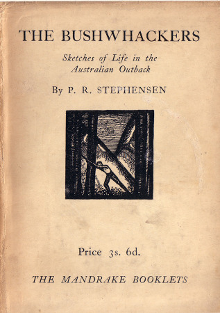 P. R. Stephensen, The Bushwhackers, front cover 450h