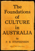 P. R. Stephensen, The Foundations of Culture in Australia, front cover 100h