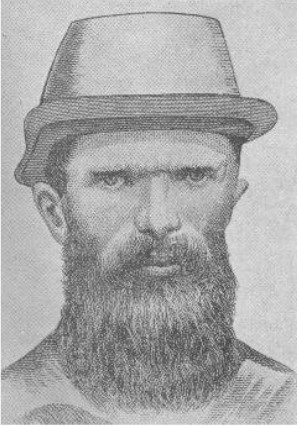 Constable Lonigan, who was the first man shot by Ned Kelly at Stringybark Creek.