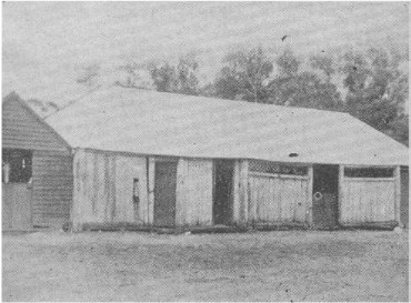 Stable at Faithful's Creek Station, where the Kellys stabled and fed their horses.