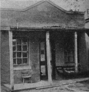 Jerilderie Post Office, which Joe Byrne visited and cut telegraph wires when the Kelly Gang took charge of the town.